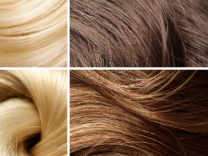 hair color sample